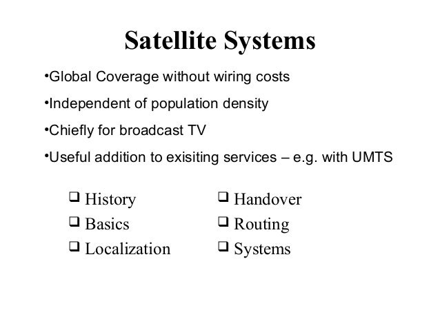 Satellite Sys