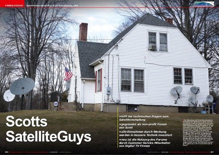 Firmen Report                        Satellitenforumbetreiber Scott Greczkowski, USAScotts                                ...