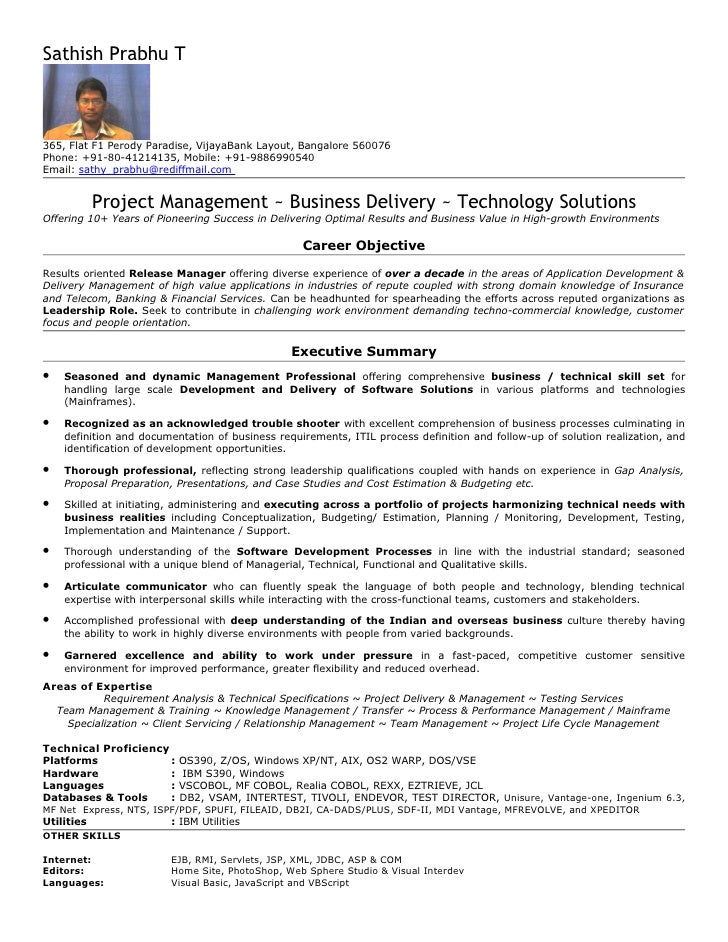 28 sle resume for 2 years experience in mainframe resume