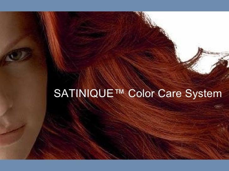 Satinique Color Care