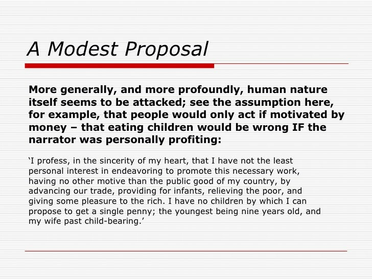 a modest proposal essay examples on satire   essay for youa modest proposal essay examples on satire