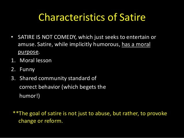 Satire Power Point