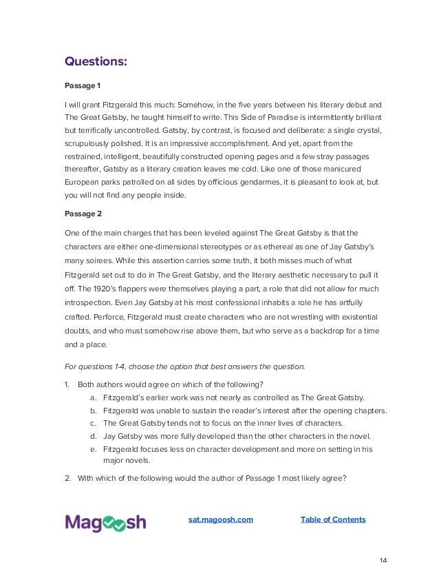 Grade my SAT essay? (1-12 or 1-6, either way is appreciated)?