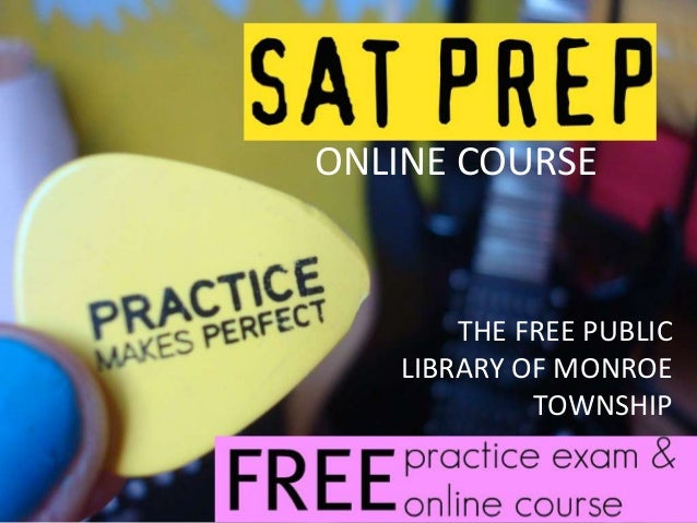 Free Online Course for SAT prep