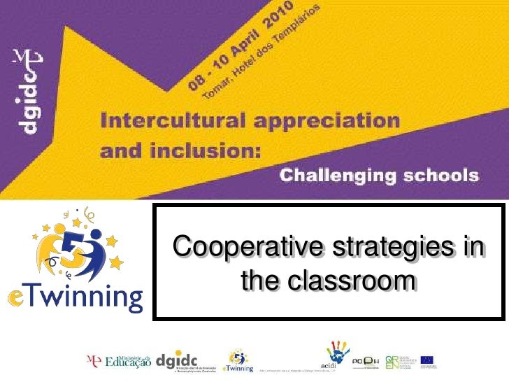 Cooperative strategies in the classroom<br />