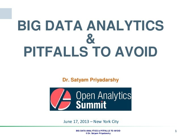 Satyam open analytics nyc