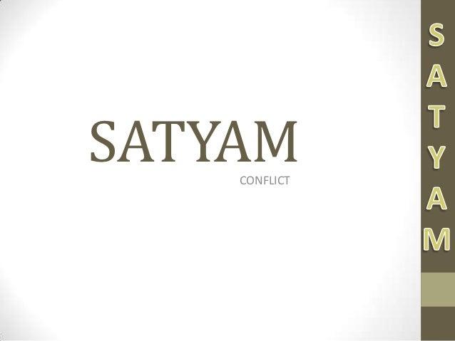 Satyam conflict