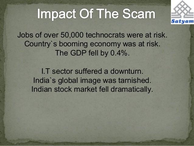 satyam scam- a case study