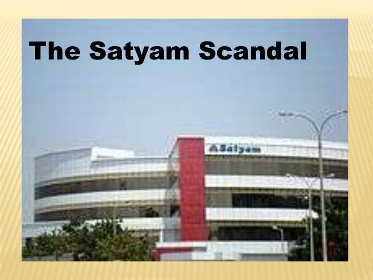 The Satyam Scandal
