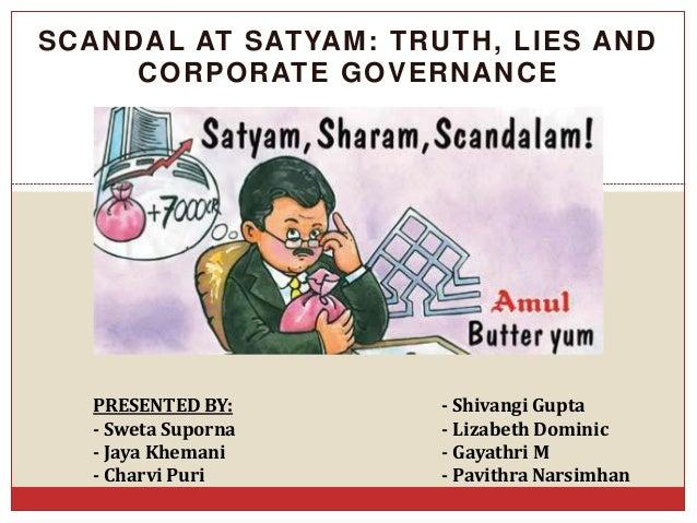 Satyam Fraud