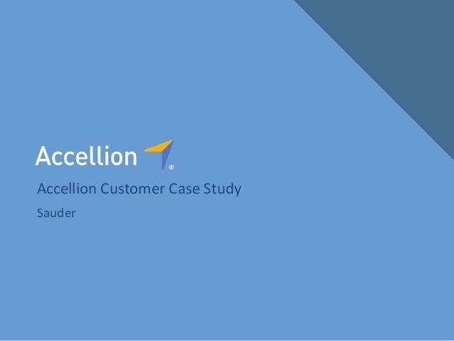 Accellion Case Study: Sauder