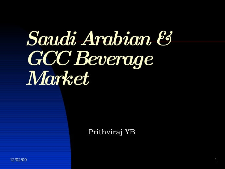Saudi Arabian Beverage Market