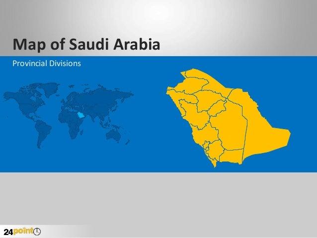 Map of Saudi Arabia Provincial Divisions