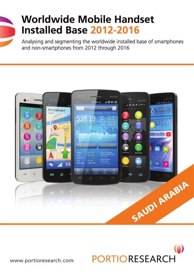 Saudi Arabia Country Report   Mobile Handset Installed Base 2012-2016