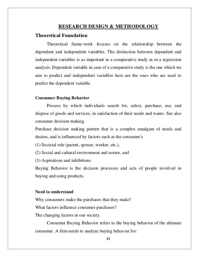 Theoretical literature review about consumer buying behaviour