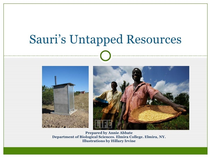 Sauri's Untapped Resources