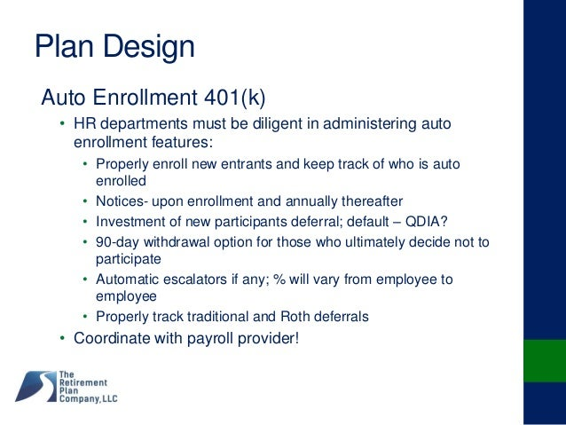 "401k enrollment project Aarp collected the data for this project through automatic 401(k) either ""very familiar"" or ""somewhat familiar"" with automatic enrollment in 401(k."