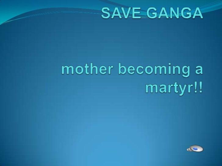 save ganga essay