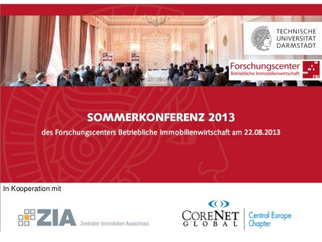 Sommerkonferenz 2013 | ProgrammIn Kooperation mit