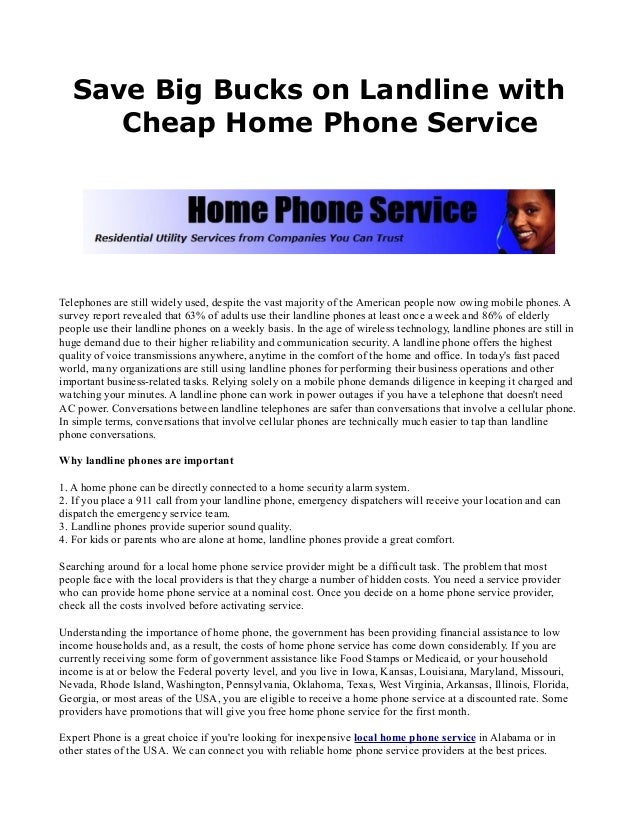 Cheapest Home Phone Service 28 Images Talk Introduces