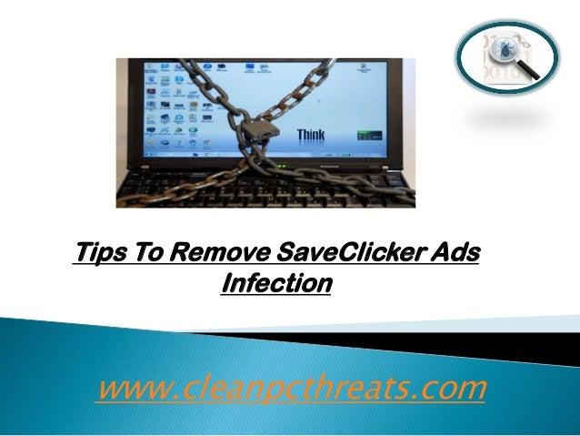 Remove SaveClicker Ads – Uninstall SaveClicker Ads