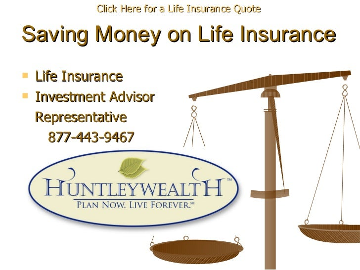 How we Save our Clients Hundreds on Life Insurance