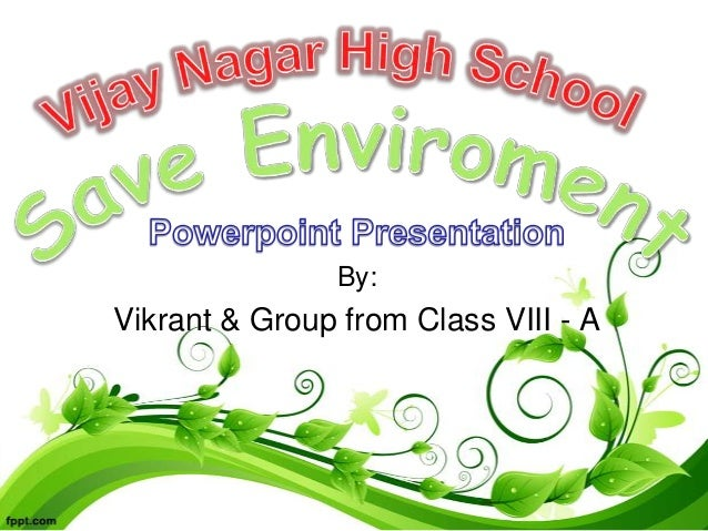 Essay on role of energy conservation in environment protection