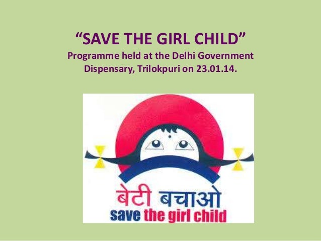 """""""SAVE THE GIRL CHILD"""" Programme held at the Delhi Government Dispensary, Trilokpuri on 23.01.14."""