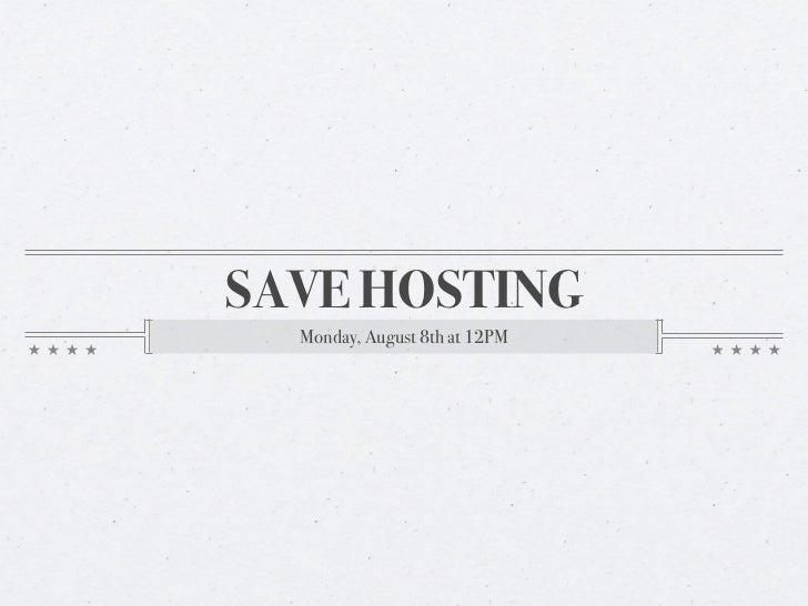 Save Hosting