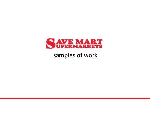samples of work