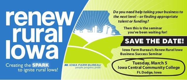 Renew Rural Iowa Event