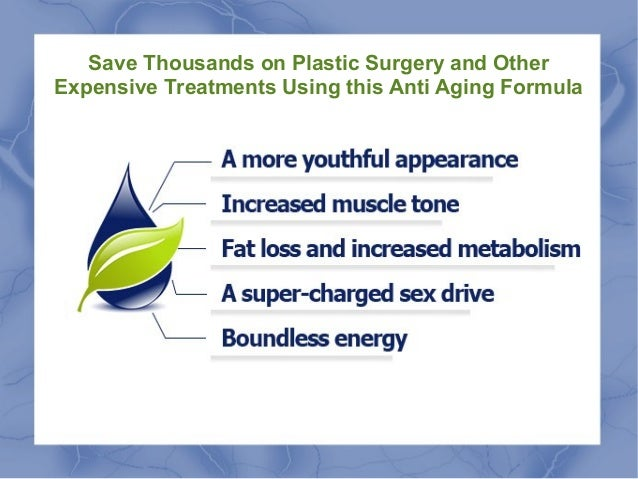 Save Thousands on Plastic Surgery and other Expensive Treatments using this anti Aging Formula