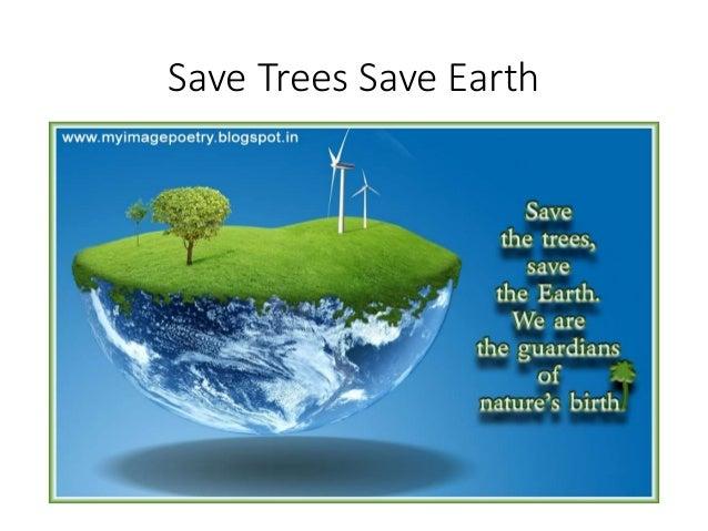 Saving earth essay