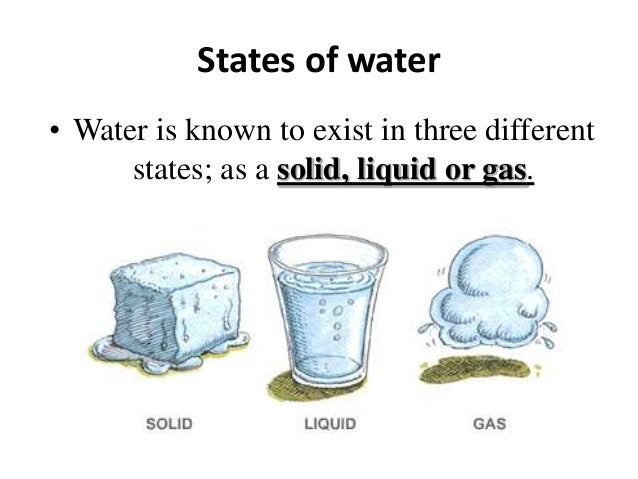 the importance of water that exist in all three states of matter They are different and unique from the other states of matter plasma is different from a gas,  the electrons are all bound to the nucleus in neon plasma,.