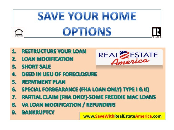 Save Your Home Options