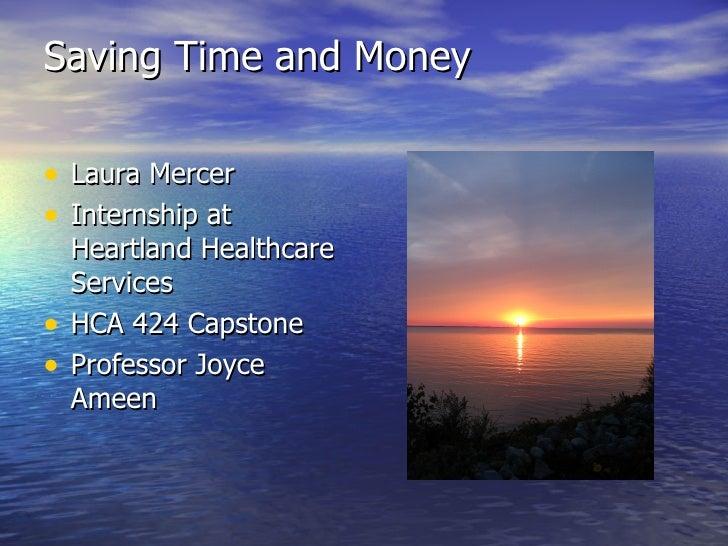 saving time and money 2
