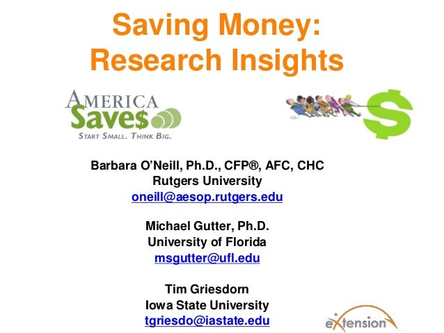 Saving Money Research Insights-FINAL-ALL Presenters