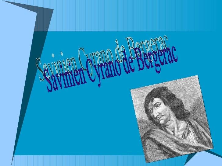 Savinien Cyrano de Bergerac