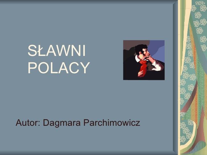 Slawni Polacy