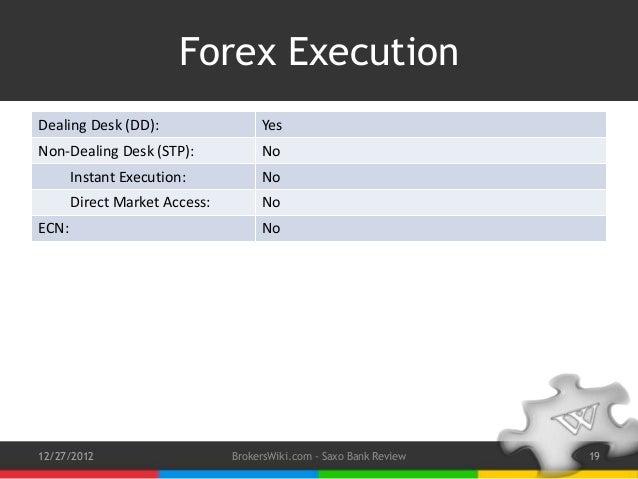Saxo bank forex review