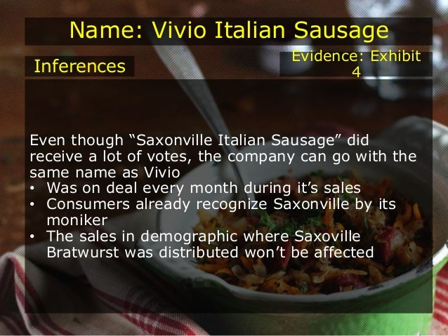 saxonville case study 1 saxonville sausage company harvard business school | briefcases 2 saxonville's background 3 70 year old privately held family business hq in saxonville.