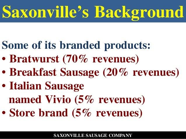 saxonville sausage company
