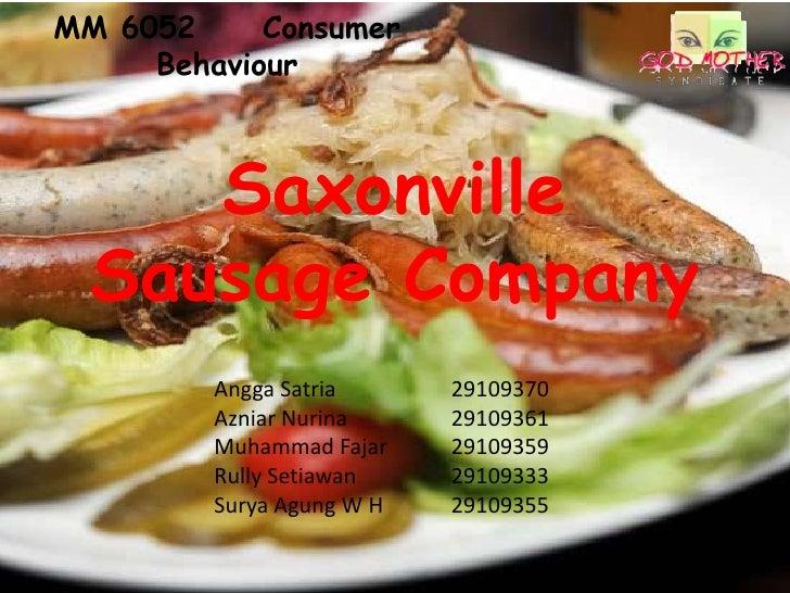 Saxonville sausage company   god mother syndicate