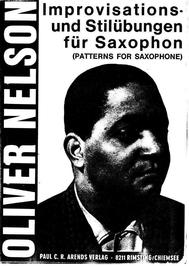 [Saxophone].Oliver Nelson - improvisation.for.saxophone