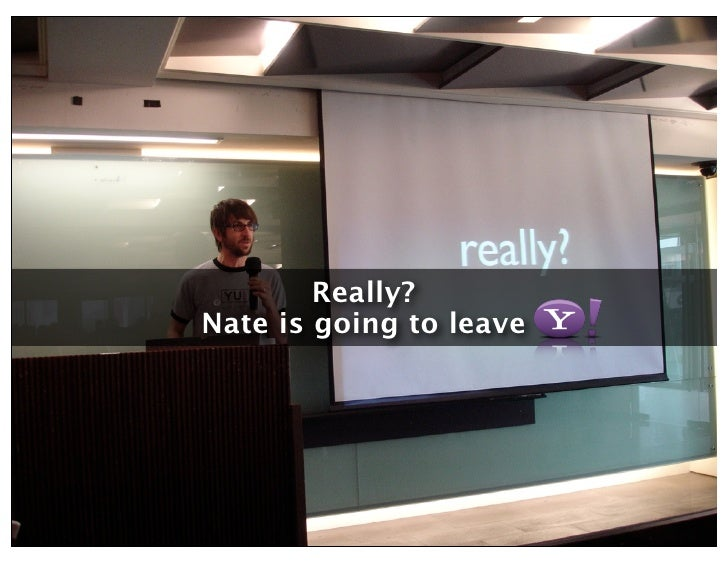 Really? Nate is going to leave