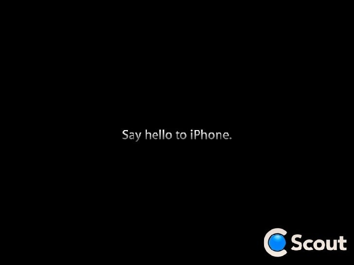 Say hello to iPhone