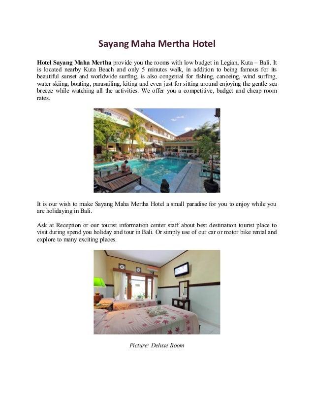 Sayang Maha Sayang Maha Mertha Hotel Hotel