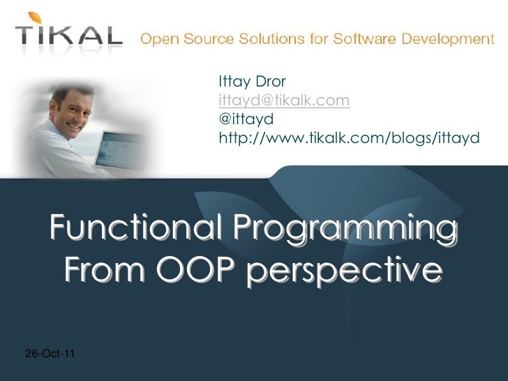 Functional Programming from OO perspective (Sayeret Lambda lecture)