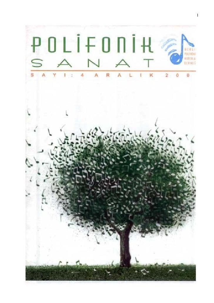 Mersin Polifonik Dergi -  4