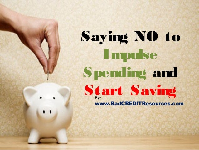 how to stop spending and start saving